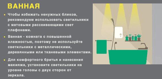 Как выбрать светильник инфографика 7