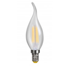 Свеча на ветру матовая  Е14  2800К  4W   VG10-CW2E14warm4W-F