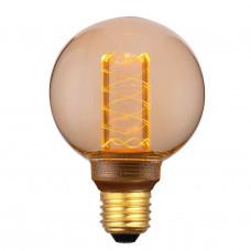 Лампа светодиодная Hiper E27 4W 1800K янтарная HL-2222