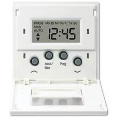 Накладка жалюзийного выключателя Стандарт с таймером Jung LS 990 белая LS5232STWW