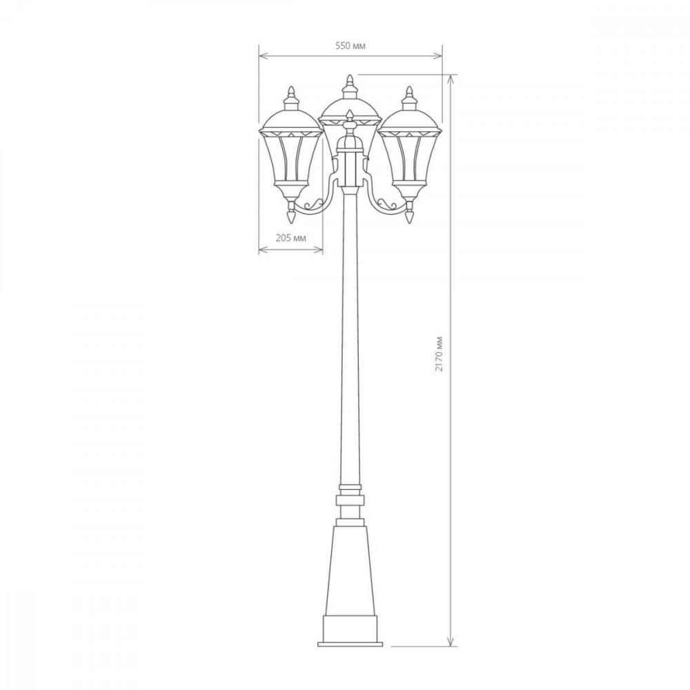 Садово-парковый светильник Elektrostandard Capella 4690389012266
