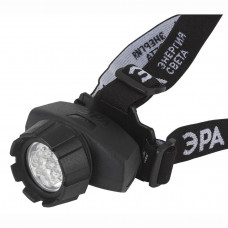 Налобный светодиодный фонарь ЭРА от батареек 130 лм GB-604 Б0031384