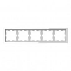 Рамка 5-постовая Schneider Electric Merten D-Life MTN4050-6520