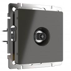 ТВ-розетка Werkel проходная серо-коричневый WL07-TV-2W 4690389073502