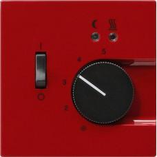 Лицевая панель Gira S-Color термостата теплого пола красный 149443
