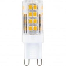 Лампа светодиодная Feron G9 5W 4000K прозрачная LB-432 25770