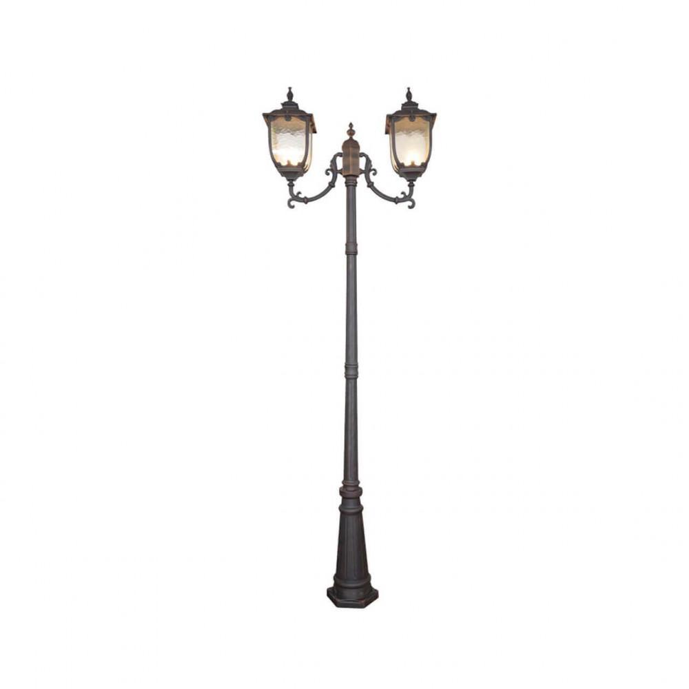 Садово-парковый светильник Elektrostandard Sculptor F/2 капучино 4690389064654