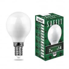 Лампа светодиодная Feron E14 7W 4000K матовая SBG4507 55035
