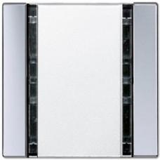 Пульт управления настенный плоский, 1 канал Jung A 500/A creation/A plus алюминий A41FAL
