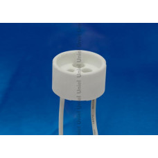 Патрон керамический GU10 (02284) Uniel ULH-GU10-Ceramic-15cm