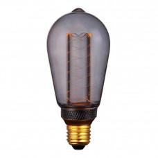 Лампа светодиодная Hiper E27 4W 1800K дымчатая HL-2227