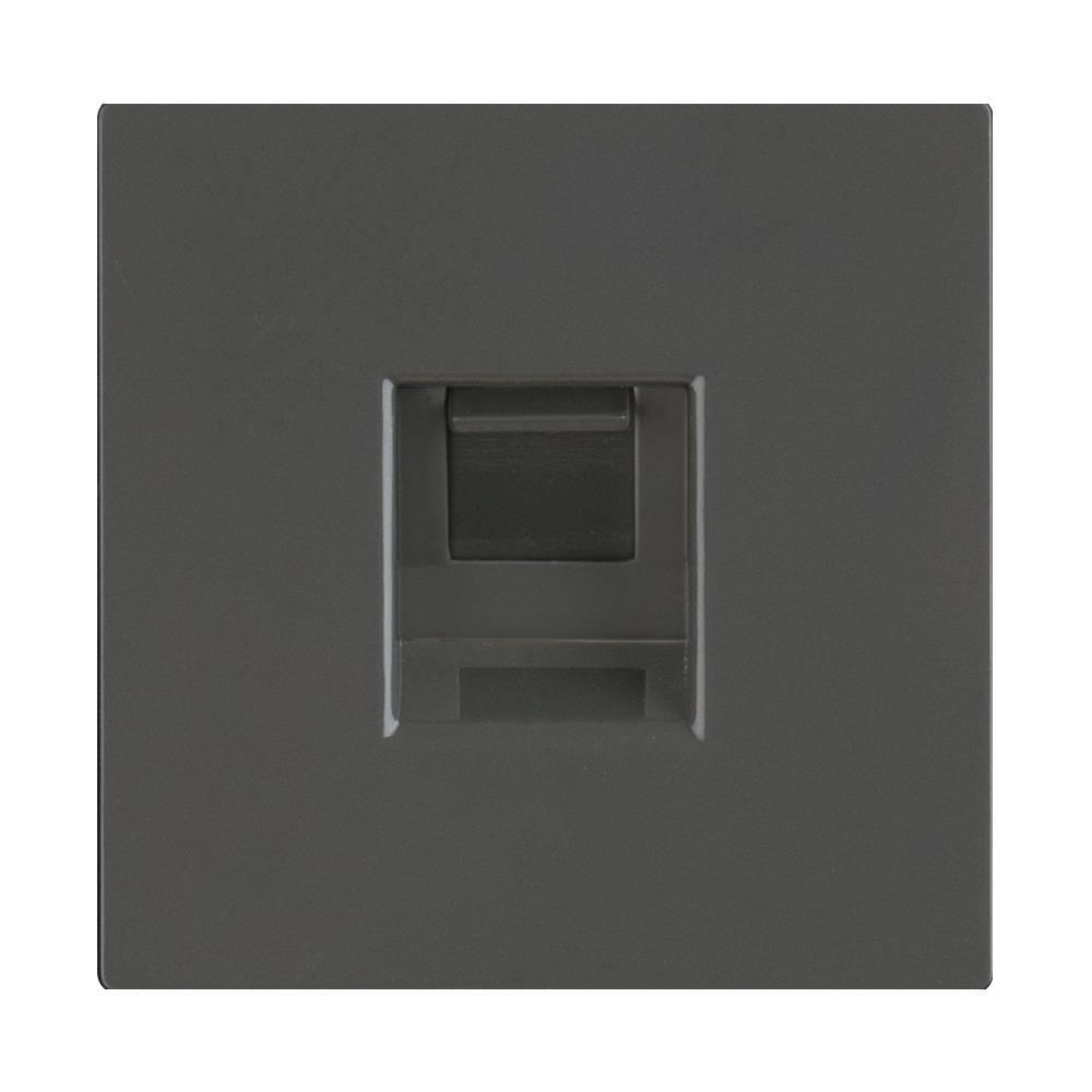 Розетка Ethernet RJ-45 Werkel серо-коричневая WL07-RJ-45 4690389086601