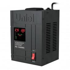 Стабилизатор напряжения (07378) Uniel 500ВА RS-1/500WS