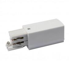 Ввод питания для шинопровода правый (09735) Uniel UBX-A01 White