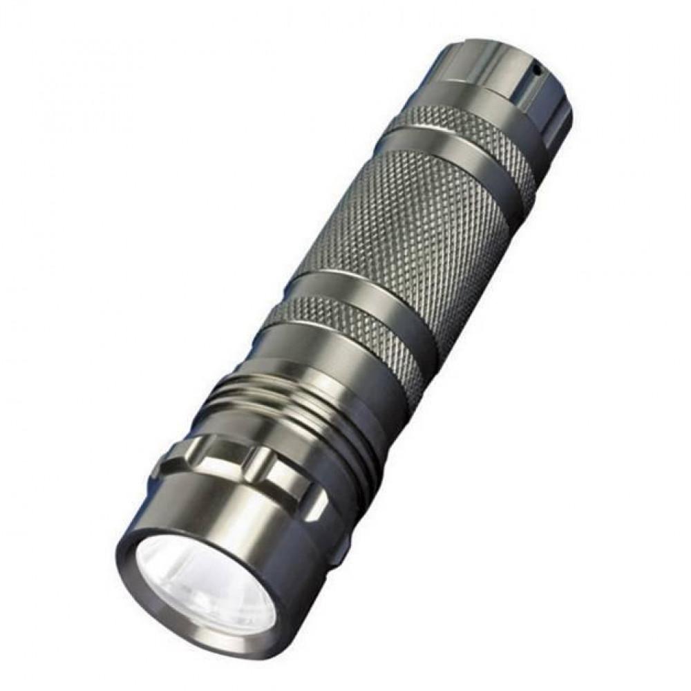 Ручной светодиодный фонарь (05623) Uniel от батареек 60 лм S-LD023-C Silver