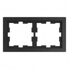 Рамка 2-постовая Schneider Electric Merten D-Life MTN4020-6547
