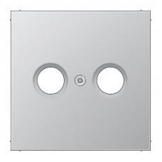 Накладка TV-FM розетки Jung LS 990 алюминий AL2990TV