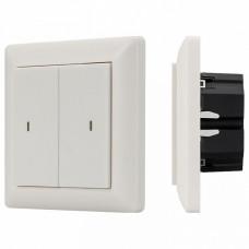 Диммер клавишный Arlight Knob SR-KN0200-IN White (KNX, DIM)