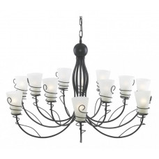 Подвесная люстра Spiral A9051LM-12BR Arte Lamp