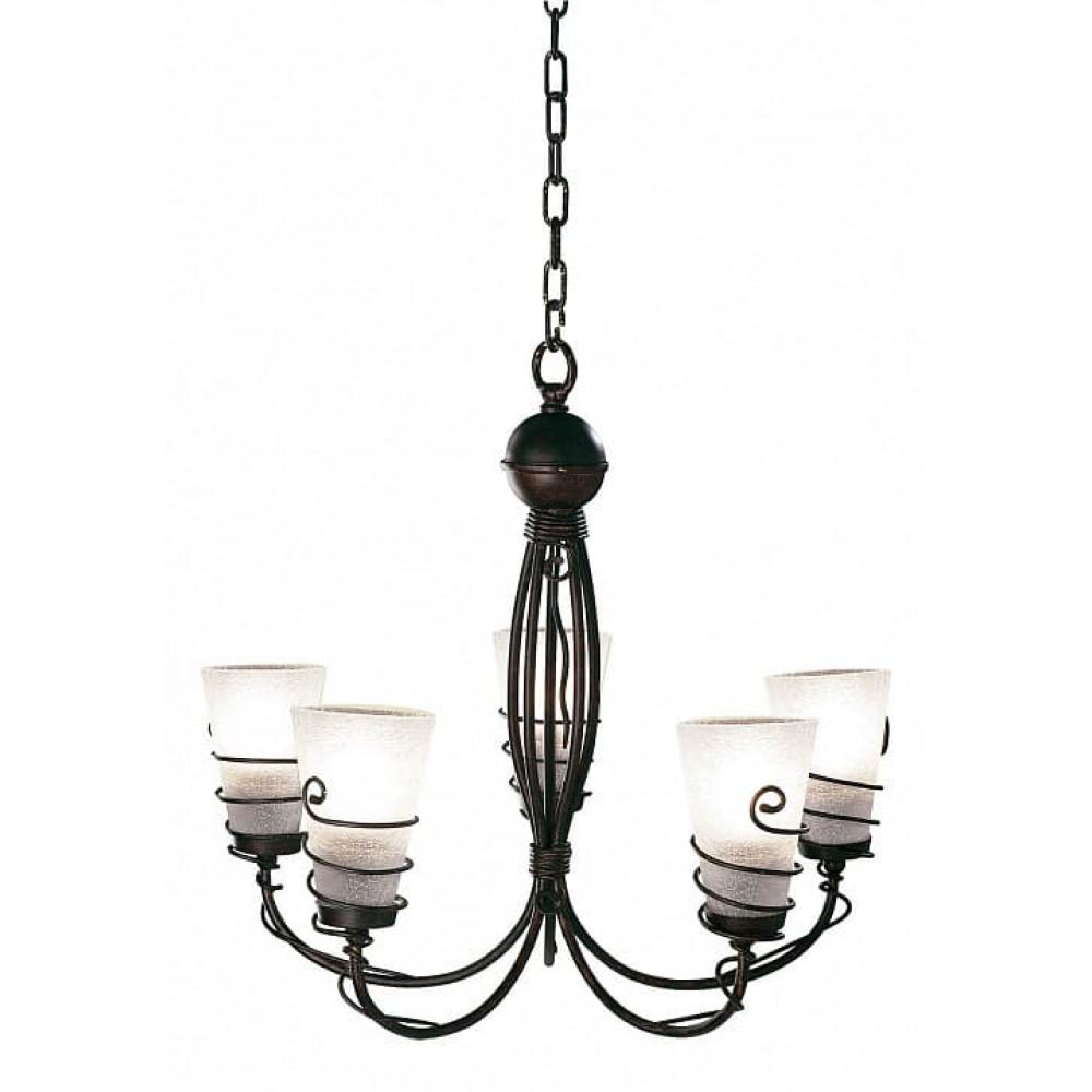 Подвесной светильник Spiral A9051LM-5BR Arte Lamp