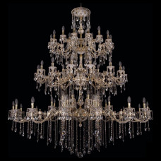 Подвесная люстра Bohemia Ivele Crystal 1739 1739/32+24+24/410+300/B/GW