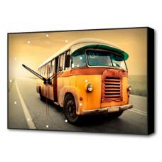 Настенные часы (60х37 см) Автобус BL-2301 Brilliant