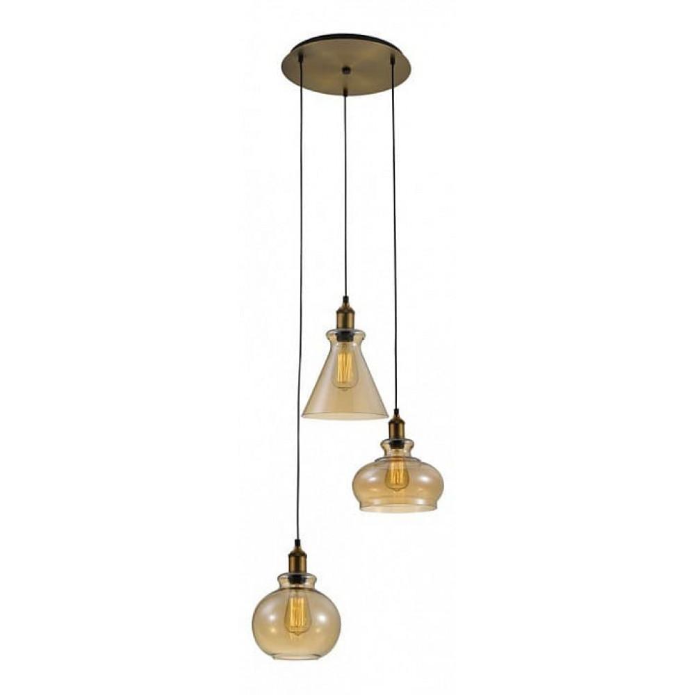 Подвесной светильник TRE SP3 D AMBER Crystal Lux