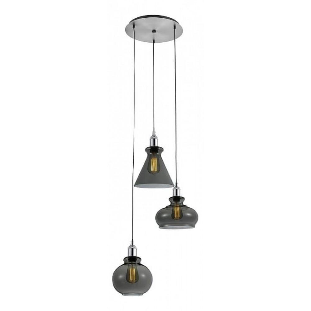 Подвесной светильник TRE SP3 D SMOKE Crystal Lux