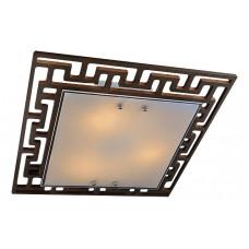 Накладной светильник Eurosvet 2870 2870/3 хром/венге