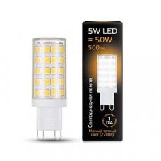 Лампа светодиодная Gauss 1073 G9 5Вт 2700K 107309105