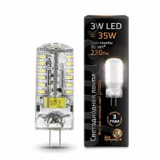 Лампа светодиодная Gauss 1077 G4 3Вт 2700K 107707103