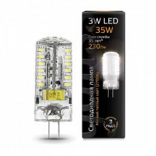 Лампа светодиодная Gauss 2077 G4 3Вт 2700K 207707103