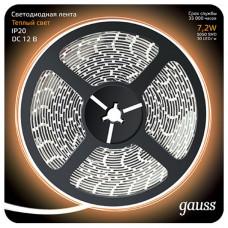 Лента светодиодная Gauss Gauss 312000107