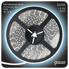 Лента светодиодная Gauss Gauss 312000314