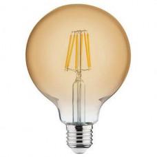 Лампа светодиодная Horoz Electric Rustic Globe-6 E27 6Вт 2200K HRZ00002344