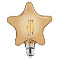 Лампа светодиодная Horoz Electric Rustic Star-6 E27 6Вт 2200K HRZ00002345