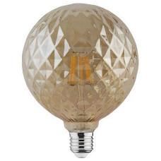 Лампа светодиодная Horoz Electric Rustic Twist-6 E27 6Вт 2200K HRZ00002348