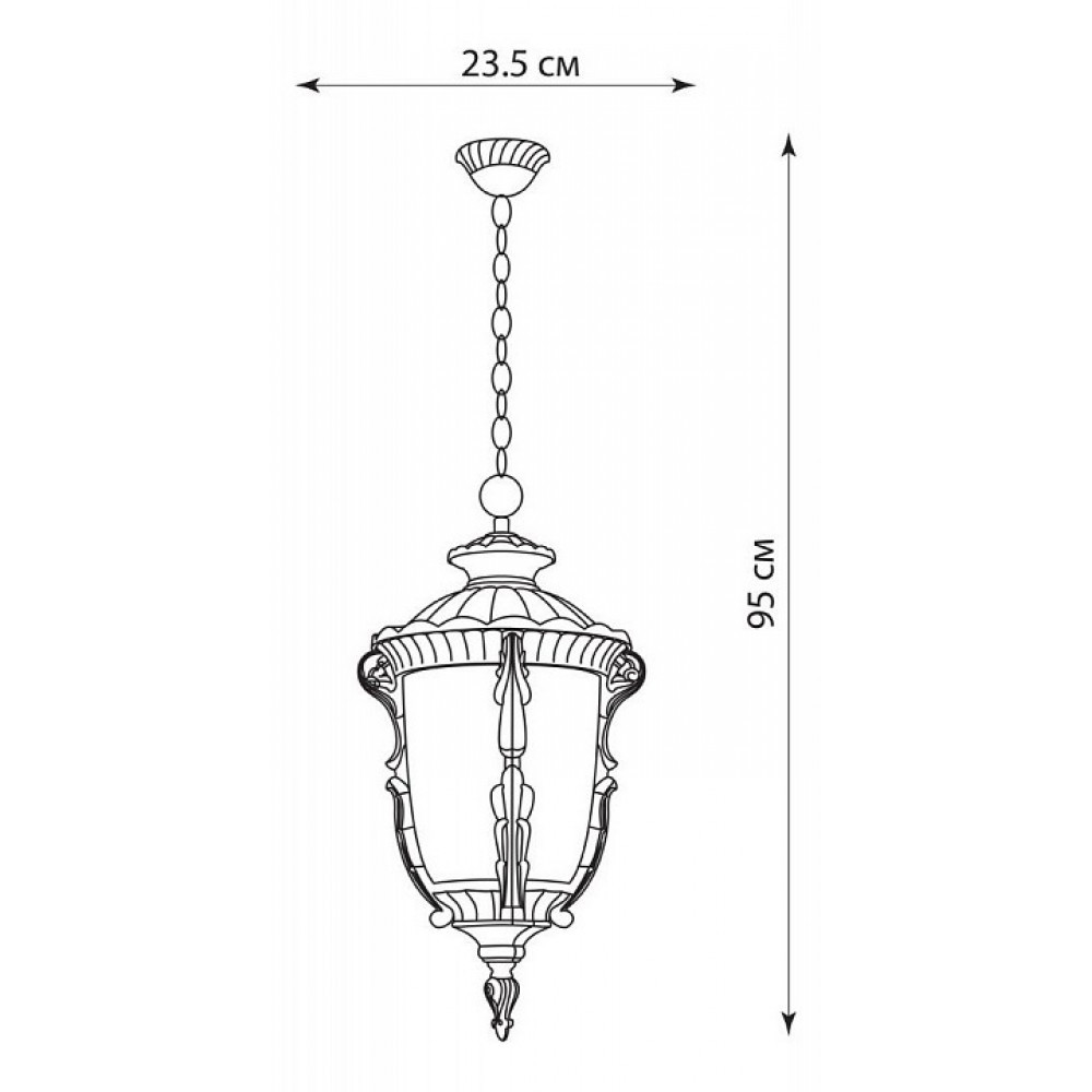 Подвесной светильник Шербур 11503