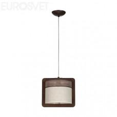 Светильник потолочный Sigma 20208 Szyk 1 коричневый