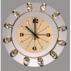 Часы настенные хрустальные Preciosa 99 008 50 25 7016 000 13 70 03 35