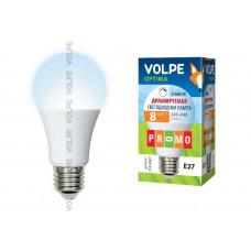 Лампа светодиодная диммируемая LED-A60-8W/NW/E27/FR/DIM/O