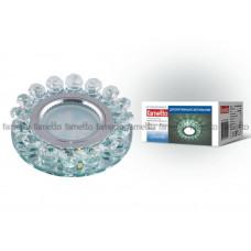 Светильник встраиваемый декоративный ТМ Fametto DLS-L102 GU5.3 CHROME/CLEAR