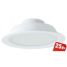 Светильник Navigator 94 789 NDL-P1-25W-865-WH-LED