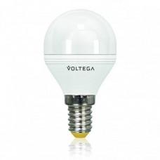 Лампа светодиодная диммируемая E14 6W 2800К шар матовый VG2-G2E14warm6W-D 5493