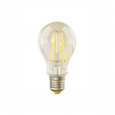 Лампа светодиодная филаментная диммируемая E27 8W 4000К груша прозрачная VG10-А1E27cold8W-FD 5490